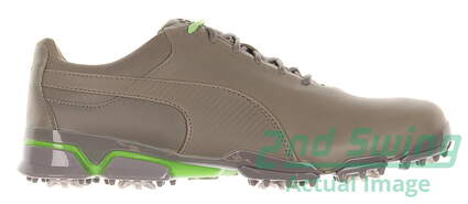 New Mens Golf Shoe Puma TitanTour Ingite Premium 10.5 Gray MSRP $190