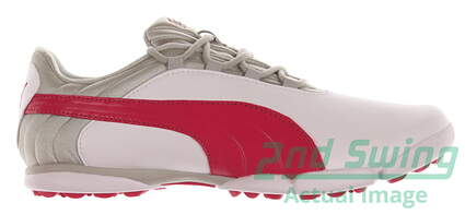 New Womens Golf Shoe Puma SunnyLite V2 Spikeless 6.5 White/Pink MSRP $80