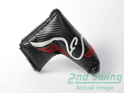 edel-e-1-torque-balanced-blade-black-putter-headcover-head-cover-golf
