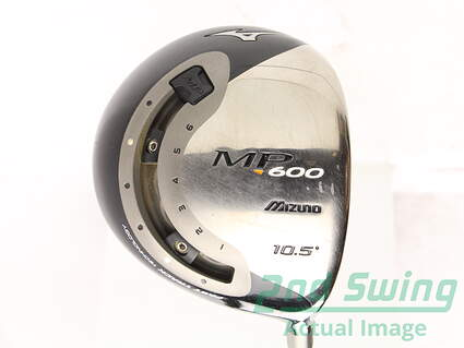 Mizuno MP-600 Driver 10.5* Stock Graphite Shaft Graphite Stiff Right Handed 45.25 in