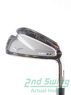 Mizuno MP-64 Single Iron 4 Iron True Temper Dynamic Gold S300 Steel Stiff Right Handed 38.5 in