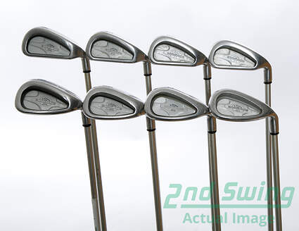 Callaway X-14 Iron Set 4-PW SW Callaway Steelhead X-14 Gems Graphite Ladies Right Handed 37 in