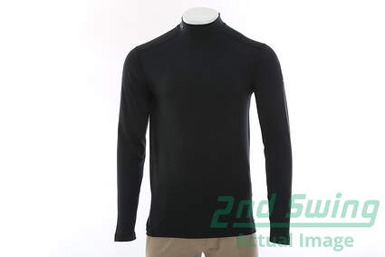 New Mens Under Armour 2016 Ryder Cup Long Sleeve Mock Neck Small S Black MSRP $56