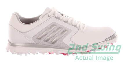 New Womens Golf Shoe Adidas Adistar Tour Medium 8 White MSRP $120 F33300