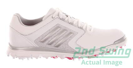 New Womens Golf Shoe Adidas Adistar Tour Medium 7 White MSRP $120 F33300
