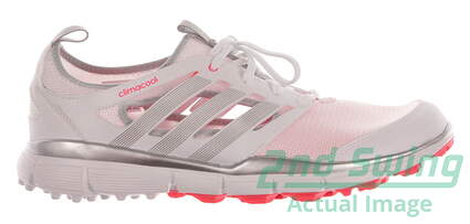 New Womens Golf Shoe Adidas Climacool II Medium 10 White MSRP $60