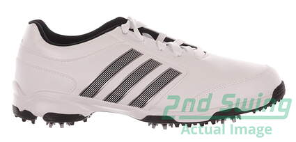 New Mens Golf Shoe Adidas Pure 360 Lite Medium 9.5 White MSRP $120