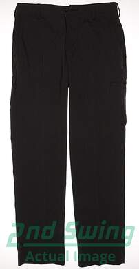 New Mens Adidas Golf Pocket Pants 32x34 Black MSRP $85