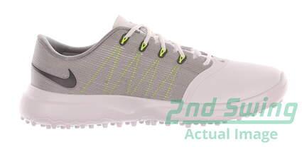 New Womens Golf Shoe Nike Lunar Empress 2 8 White/Grey MSRP $150 819040 100