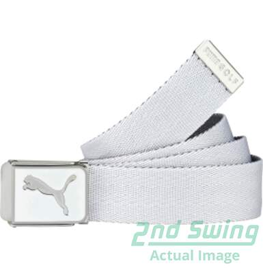 New Mens Puma Golf Cuadrado Reversible Web Belt One Size Fits Most MSRP $22