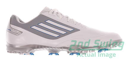 New Mens Golf Shoe Adidas Adizero One Medium 10 White/Grey Q46801 MSRP $150