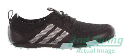 New Womens Golf Shoes Adidas Climacool Ballerina II Medium 8 Black MSRP $60 Q46717