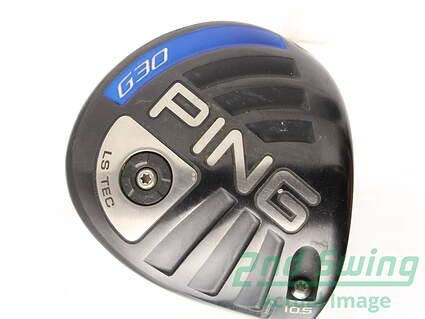 Ping G30 LS Tec Driver 10.5* Ping TFC 419D Graphite Stiff Right Handed 44.5 in