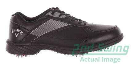 New Mens Golf Shoe Callaway Chev Lite Medium 12 Black MSRP $80 M234
