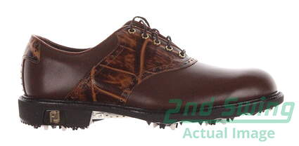 New Mens Golf Shoe Footjoy Icon Traditional Medium 7.5 Brown MSRP $299.99