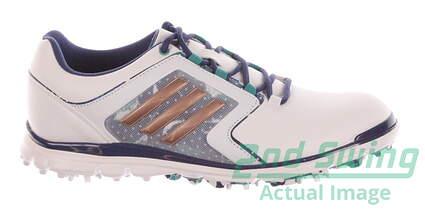 New Womens Golf Shoes Adidas Adistar Tour Medium 8 White MSRP $120 F33489