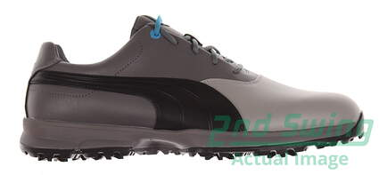 New Mens Golf Shoes Puma Ace Medium 10 Limestone Gray/Black/Steel Gray 188658-03 MSRP $100