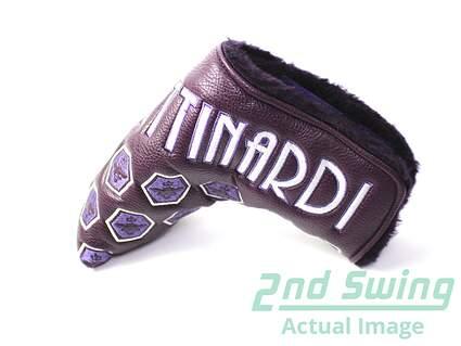 New Bettinardi 2012 Queen B 2 Purple Blade Putter Velcro Headcover Head Cover Golf