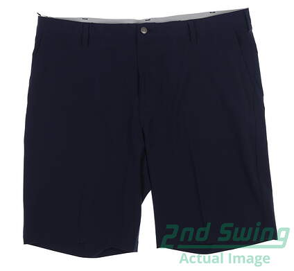 New Mens Adidas Ultimate Golf Shorts Size 40 Navy Blue MSRP $65 AF0036