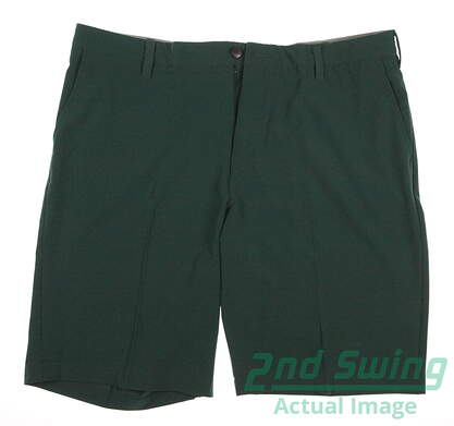 New Mens Adidas Ultimate Golf Shorts Size 34 Green MSRP $65 AF0360