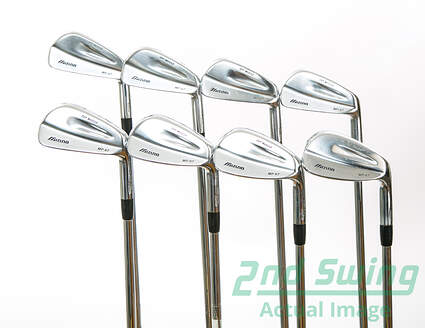 Mizuno MP 67 Iron Set 3-PW FST KBS Tour Steel Stiff Right Handed 38 in