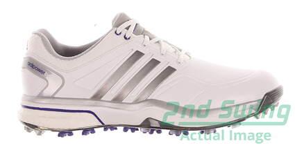 New Womens Golf Shoes Adidas Adipower Boost Medium 8.5 White MSRP $160 Q47016