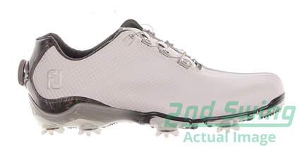 New Mens Golf Shoe Footjoy DNA BOA Medium 9 White MSRP $220