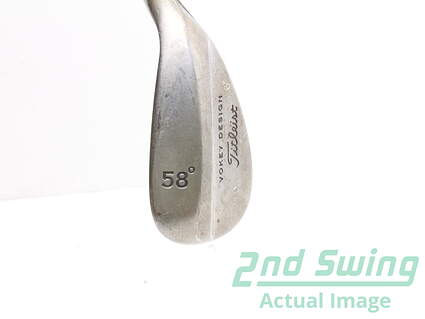 Tour Issue Titleist Vokey Raw Wedge Lob LW 58* 8 Deg Bounce Steel Right Handed 35.25 in Mark O'Meara