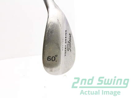 Tour Issue Titleist Vokey Raw Wedge Lob LW 60* 6 Deg Bounce Steel Right Handed 35 in Mark O'Meara
