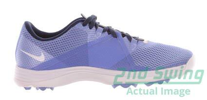 New Womens Golf Shoe Nike Summer Lite II 7.5 Blue MSRP $80