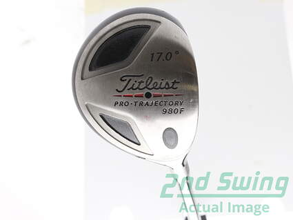 Tour Issue Titleist 980 F Fairway Wood 4 Wood 4W 17* Stock Fujikura Fit on!-11 Ex. Pro 95 Shaft Graphite Stiff Right Handed 42 in Mark O'Meara