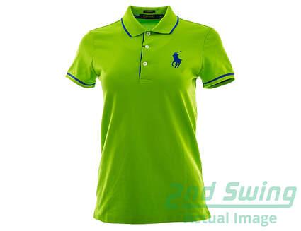 New Womens Ralph Lauren Golf Polo Small S Green MSRP $95