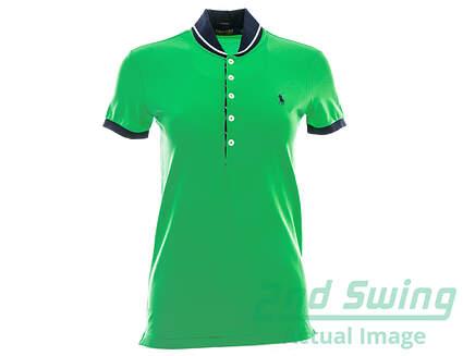New Womens Ralph Lauren Golf Polo X-Small XS Green MSRP $89.50