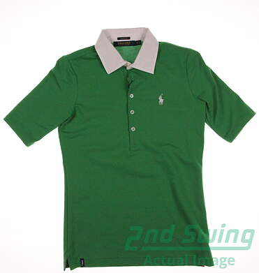 New Womens Ralph Lauren Polo Golf Polo X-Large XL Green MSRP $90 281590265002