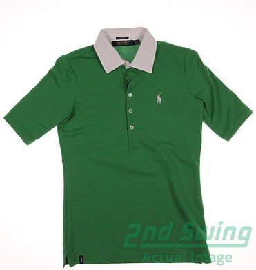 New Womens Ralph Lauren Polo Golf Polo X-Small XS Green MSRP $90 281590265002