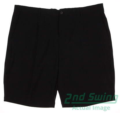 New Mens Dunning Stretch Performance Shorts Size 42 Black MSRP $79