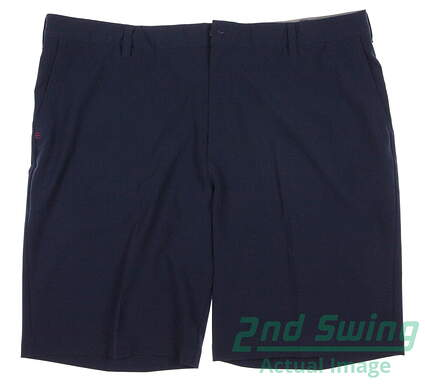 New Mens Adidas Golf Flat Front Ultimate Shorts Size 40 Blue MSRP $65 AE4197