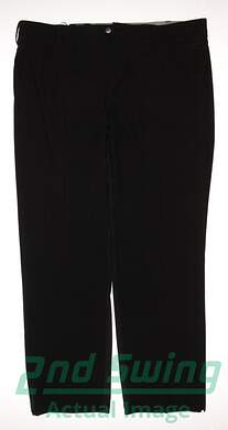 New Mens Adidas Golf Climacool Ultimate Airflow Pants 38x32 Black MSRP $85 AE4298