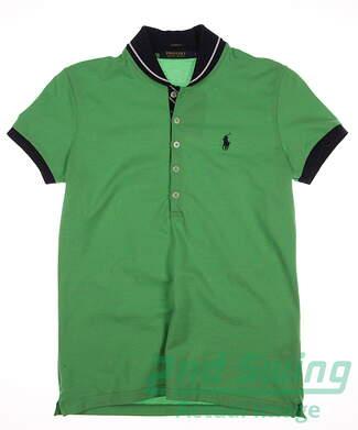 New Womens Ralph Lauren Golf Polo Small S Green MSRP $85