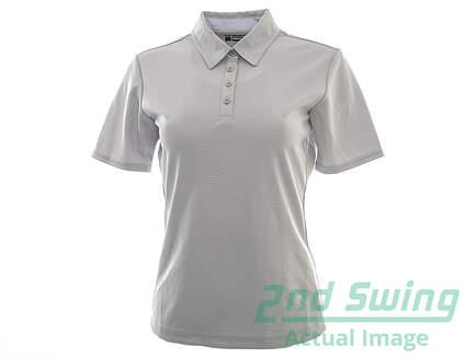 New Womens SUNICE Sunice CARA Silver Polo Small S Gray MSRP $70 8150