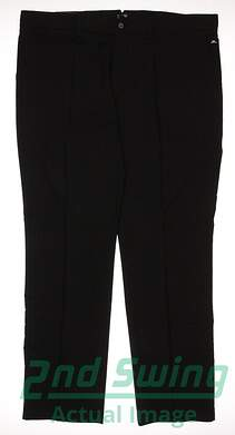 New Mens J. Lindeberg Golf Elof Slim Fit Light Poly Pants 38x32 Black MSRP $99.99
