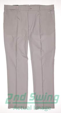 New Mens J. Lindeberg Golf Elof Reg Fit Light Poly Pants 38x32 Gray MSRP $99