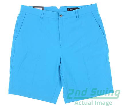 New Mens Dunning Palyer Fit Woven Shorts Size 34 Blue MSRP $80 D7S13H055