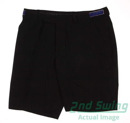 New Mens Zero Restriction Packable Waterproof Golf Shorts Size Medium M Black MSRP $125 RP419 002
