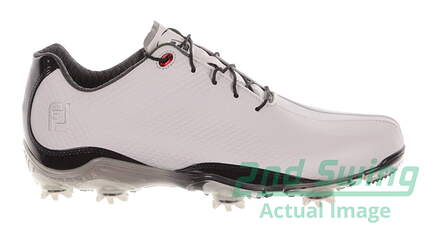 New Mens Golf Shoe Footjoy DNA Medium 11 White MSRP $200 53493