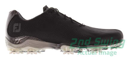 New Mens Golf Shoe Footjoy DNA Medium 8 Black MSRP $200 53455