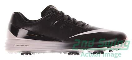New Mens Golf Shoe Nike Lunar Control 4 13 Black/White MSRP $170