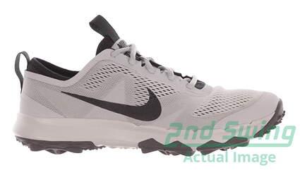 New Mens Golf Shoe Nike FI Bermuda 10 Gray MSRP $141