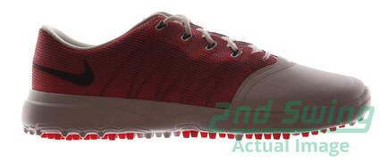New Womens Golf Shoe Nike Lunar Empress 2 8 White/Orange MSRP $150