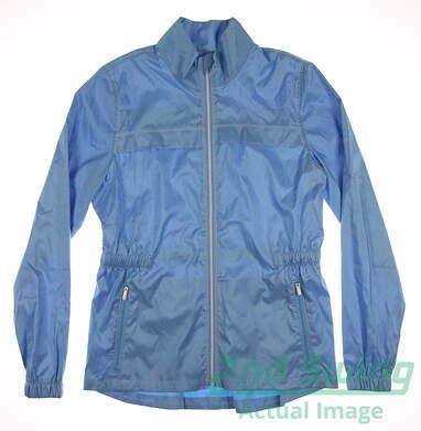 New Womens Cutter & Buck Golf Jacket Small S Blue MSRP $80